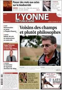 Portada de L'Yonne-Républicaine (France)