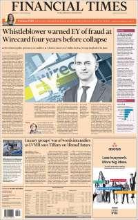Portada de Financial Times - USA (USA)