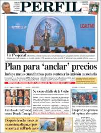 Portada de Diario Perfil (ar)