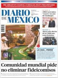 Portada de Diario de México (México)