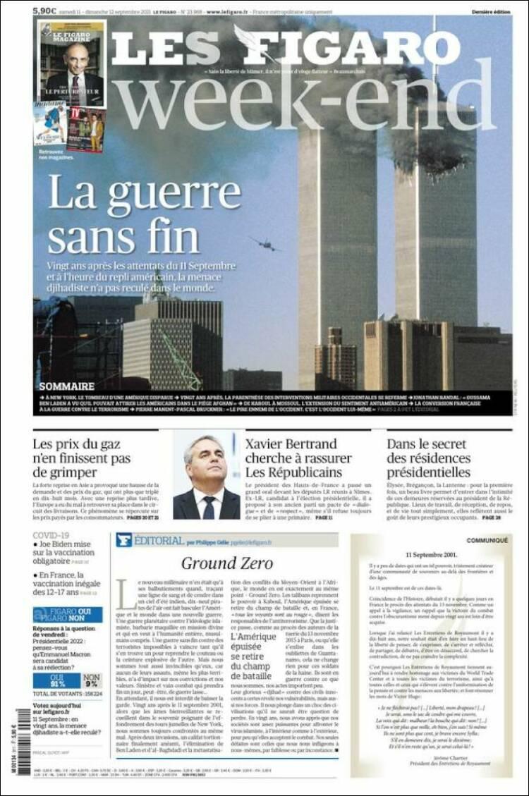 Couverture du Figaro (France)